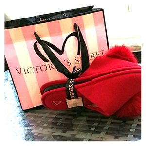 Victoria's secret red slippers